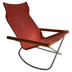"Takeshi Nii ""NY"" Folding Rocking Chair 