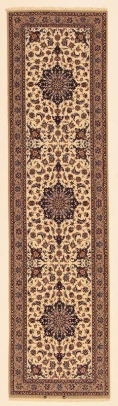 Perserteppich Isfahan a.Seide hell (76x293cm)