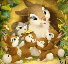 Squirre animal canvas art print reproduction of animal canvas home decoration canvas printing Bambi Disney, Arte Disney, Disney Love, Disney Art, Disney Cartoon Characters, Disney Cartoons, Ed Wallpaper, Illustrator, Rabbit Art