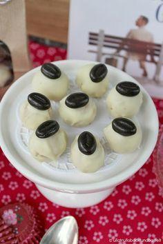 Kaffee - Vanille Pralinen und ein leckeres Rezept für Himbeer - Amarettini