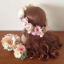 ガーベラのナチュラルリストブーケ♡ |Ordermade Wedding Flower Item MY FLOWER ♪ まゆこのブログ