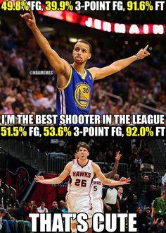 Kyle Korver Versus Steph Curry? Who is having a better season? - http://hoopsextreme.com/kyle-korver-steph-curry-bestshootereditionhawks-warriors/