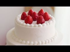 [VIDEO] 2단 케이크 만들기:생크림 케이크 아이싱 하는 법&baking basic: cake icing & decorating . How to frost a cake - YouTube