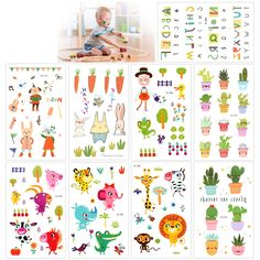 Temporary Tattoos For Kids(135Pcs), Konsait Animal Zoo Flower Plant Letter Cartoon Assorted Tattoo Stickers For Children Girls Boys, Great Kids Party Accessories Goodie Bag Stuffers Party Fillers Gift *** Click image for more details. (As an Amazon Associate I earn from qualifying purchases) Safari Theme Party, Party Themes, Little Boy And Girl, Tattoos For Kids, Valentines Day Decorations, Party Accessories, Goodie Bags, Halloween Kids, Planting Flowers