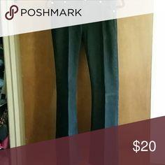 Gap Jeans Black Gap flair leg jeans.  Size is 2R.  Worn a few times but look like new GAP Jeans Flare & Wide Leg