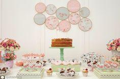 Bella Fiore Decoração de Eventos: Chá de Aniversário Shabby Chic