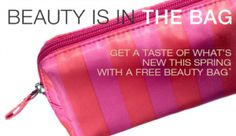 FREE Beauty Bag from Target