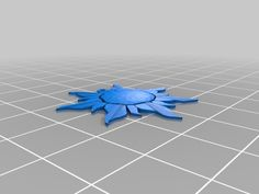 Disney Tangled Sun Symbol by EdisonM - Thingiverse
