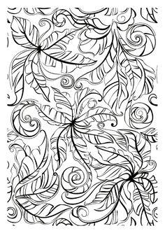 Pour imprimer ce coloriage gratuit «coloriage-adulte-feuilles», cliquez sur l'icône Imprimante situé juste à droite