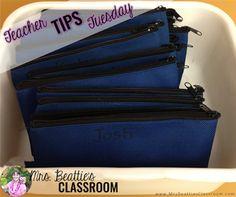 Pencil Management - Teacher Tips Tuesday - Mrs. Beattie's Classroom