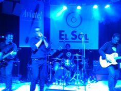 En plena actuación. Foto de Jesús A Moreno Peña