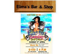 The Power Of 8: Elima's Bar & Shop