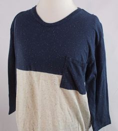 On The Byas Mens Long Sleeve Shirt size XL Pac Sun Blue White Casual Very Nice  #OnTheByas #Casual