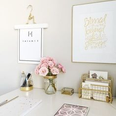 Home Office Decor Inspiration is unconditionally important for your home. Whether you choose the Decorating Big Walls Living Room or Office Design Corporate Interiors, you will make the best Home Office Design Modern for your own life. Desk Inspiration, Decoration Inspiration, Decor Ideas, Desk Inspo, Decorating Ideas, Decorating Websites, Motivation Inspiration, 31 Ideas, Design Room