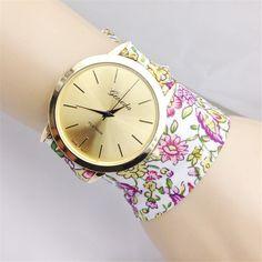 Luxury fashion casual golden Ladies Girl Dress Bracelet Watch Simple retro woman quartz watch //Price: $0.00 & FREE Shipping // #jewelry #fashion #style #stylish #love