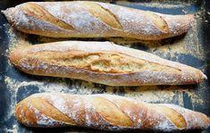 Leckeres Baguette zu Hause backen, so einfach geht's! Baguette wie in Frankreich!  #Baguette #backen #Rezepte