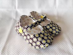 daisy baby shoes