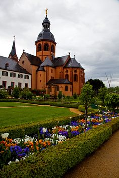 Sanctus Marcellinus Basilica - Seligenstadt, Germany | repinned by www.mybestgermanrecipes.com