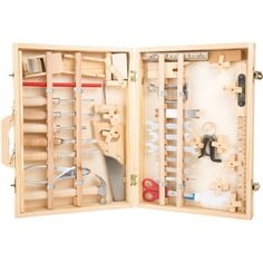 Woodworking Kits For Kids Professional style Childrens Toy Tool Kit Woodworking Kit For Kids, Woodworking Mask, Woodworking Mallet, Woodworking Chisels, Woodworking Guide, Woodworking Workshop, Woodworking Bench, Custom Woodworking, Woodworking Projects Plans