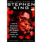 """The Lost Work of Stephen King [Book Review]:  When I was in high school home room class, I found this wonderful 1982 Sourcebook magazine article by Stephen King; the famous horror writer. It took a humorous, quirky look at his brief stint as a high school English teacher between 1971 and 1973.  Its a great classic and I'm thrilled that its been reprinted in the book pictured above.  Here's a sample of this hilarious article:  [MY HIGH SCHOOL HORRORS]:  The classroom of the Living Dead:  """"The…"""