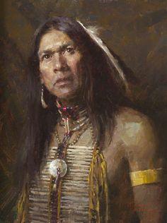 "One Man Show- © 2006 Morgan Weistling - ""Lakota Hunter"""