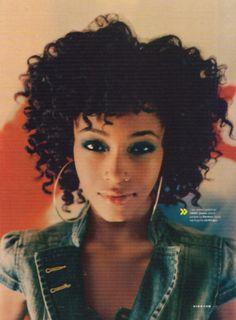 YaYa Dacosta Curly Hair
