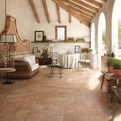 porcelain stoneware tile : rustic TERRE ESTENSI : COTTO DEL SOLE COTTO D'ESTE
