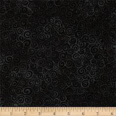 Laural Burch Swirls Black from @fabricdotcom  Designed by Laurel Burch for Clothworks, this cotton fabric is perfect for quilting, apparel and home decor accents. Colors include shades of black.