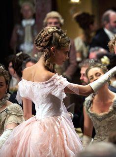 Cara Delevingne as Princess Sorokina in Anna Karenina (2012).