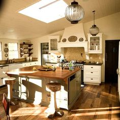 Cómo Decorar una Cocina con Aire de Campo - http://www.decorationtrend.com/home-design/como-decorar-una-cocina-con-aire-de-campo/