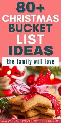 80+ Christmas Bucket List Ideas the Family Will Love