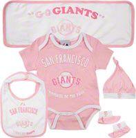 Giants onesie, better believe my babies will be decked out in Giants gear :)