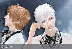 Male Hair _ Short Hairstyle Fashion The Sims 4 _ - Clove share Asia Sims 4 Hair Male, Sims Hair, Male Hair, Mods Sims 4, Sims 4 Mods Clothes, Sims 4 Cc Skin, Sims Cc, Chokers For Kids, Sims 4 Anime