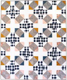 Ferry Crossing Quilt Pattern - PDF