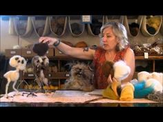 Sarafina Fiber Art Felting Eweniversity: The Owl