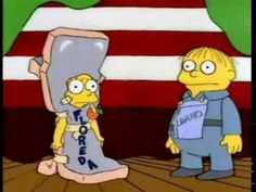 the simpsons/im idaho :) The Simpsons, Simpsons Funny, Simpsons Quotes, Lisa Simpson, Simpsons Halloween, Ralph Wiggum, Homer And Marge, Cool Halloween Costumes, Halloween Ideas