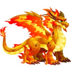 Double Flame Dragon