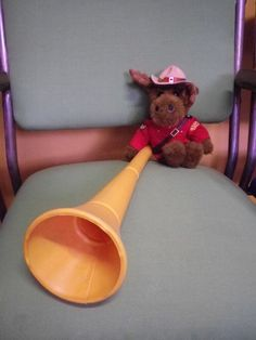 Every self-respecting Moose should have a vuvuzela. Available at our estore
