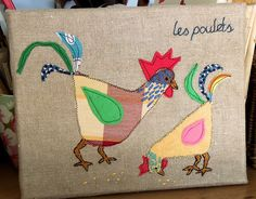 Birds of a Feather: Les Poulets | Flickr - Photo Sharing!