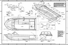 Boat Building Plans, Boat Plans, Boats, Floor Plans, How To Plan, Product Design Poster, Ships, Boat, Floor Plan Drawing