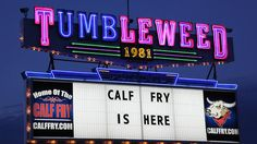 """""""In Stillwater, The Tumbleweed's hosted some of country music's legends and also is home of the annual calf fry. Because what goes better with music than deep-fried bull balls?"""" - Geoff Edgers  STILLWATER IS ON THE TRAVEL CHANNEL!"""
