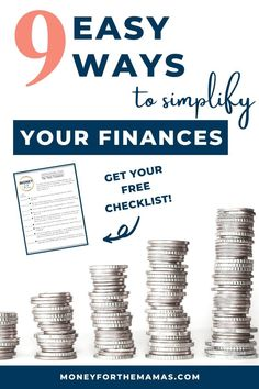 Get your personal finances set up in a simpler and easier way to manage by using these 6 steps to bring minimalism to your finances! Saving For College, Marie Kondo, Shopping Coupons, Konmari, Useful Life Hacks, Money Management, Make Money From Home, Personal Finance, Cool Things To Make