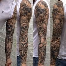 Bilderesultat for sick sleeve tattoo ideas