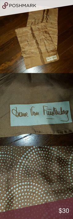 """Diane Von Furstenberg scarf Designer silk scarf. Size, 52""""x 13"""". Diane von Furstenberg Accessories Scarves & Wraps"""