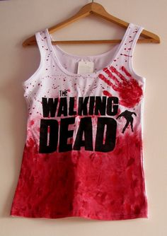 TWD The walking dead top t-shirt by Blizniak on Etsy