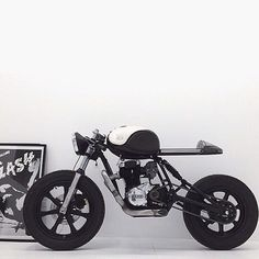 #Yamaha #sr250 #caferacer