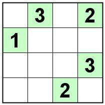 Number Logic Puzzles: 21847 - Sudoku size 4