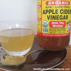 Diet Cholesterol Cure - 10 Amazing Health Benefits of Apple Cider Vinegar and Honey: - Better joint health and joint pain alleviation (good for arthritic pain) - Acid reflux and heartburn relief - Improved digestive health, including help with co Apple Health Benefits, Apple Cider Benefits, Benefits Of Raw Honey, Healthy Drinks, Get Healthy, Healthy Life, Detox Drinks, Vinegar And Honey, Vinegar With The Mother