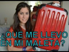 ¿Qué me llevo en mi maleta? - This is long and difficult for level 2, but if we chose a smaller section, we could have REALLY basic questions. For example, check the topics she talks about...(weather-appropriate clothing, size & weight of suitcase, etc.)