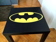 Batman Coffee Table / Superhero Coffee Table by HavvArt on Etsy